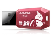 Pendrive ADATA UV100 Christmas Edition 16GB USB 2.0 AUV100F-16G-RRD