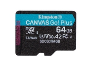 KINGSTON microSDXC Canvas Go Plus 64GB - SDCG3/64GBSP