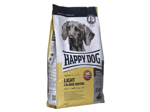 Happy Dog Fit & Well Light Calorie Control 4kg - HD-9355