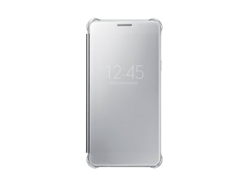 Etui SAMSUNG Clear View Cover do Galaxy A5 (2016) Srebrny - EF-ZA510CSEGWW