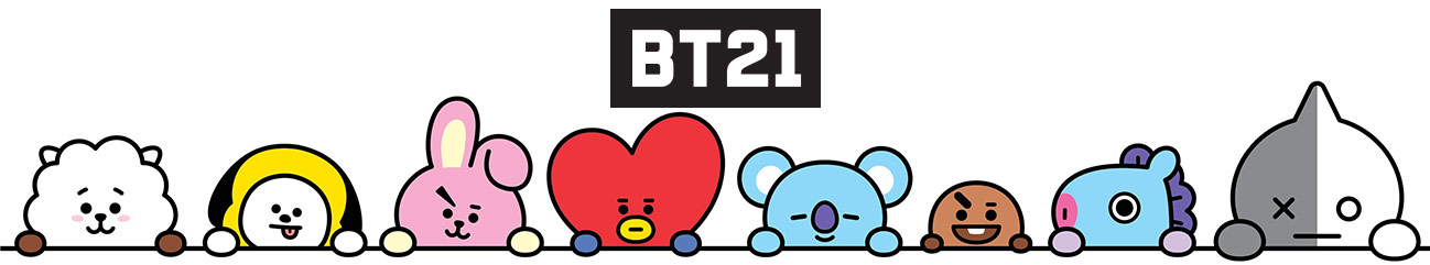 #BT21 Interactive Toy Cooky