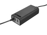 Plug & Go 70W Smart Laptop Charger  + płyty CD 700MB 10 pack - 20193