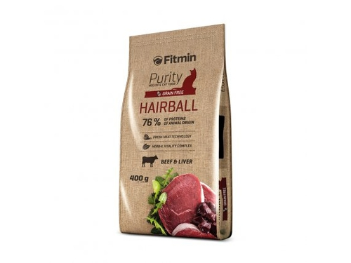 Fitmin cat purity hairball 0,4kg