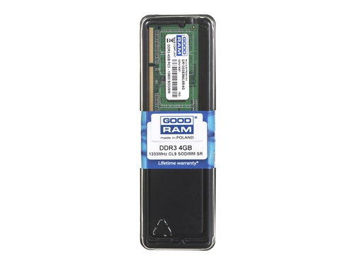 Pamięć RAM GoodRam GR1333S364L9S/4G DDR3 SO-DIMM 4GB 1333 MHz