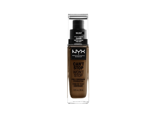 NYX Can't Stop Won't Stop Foundation -WALNUT