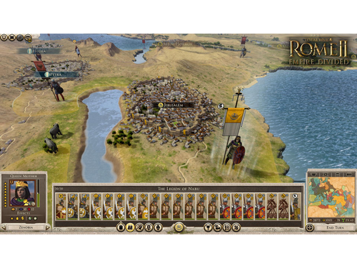 Gra wersja cyfrowa Total War : ROME II - Empire Divided