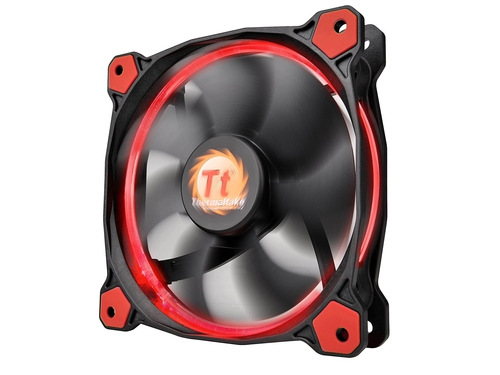 Wentylator do obudowy Thermaltake Riing 12 LED Red CL-F038-PL12RE-A