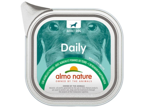 ALMO NATURE Daily Menu Dog Jagnięcina,ziemniak 100g