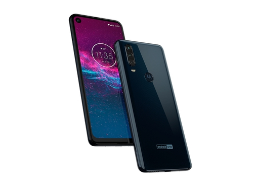 Motorola One Action ds 4/128GB Blue - PAFY0006PL