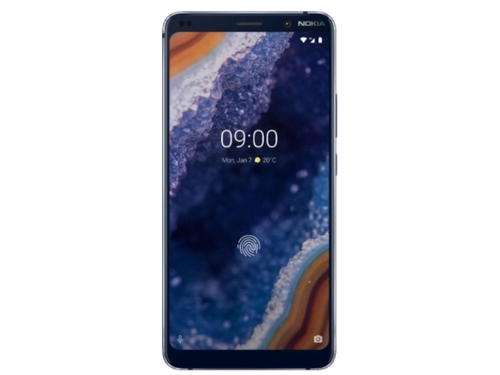 Smartfon Nokia 9 PUREVIEW 128GB Blue 11AOPL01A06 WiFi Bluetooth GPS DualSIM 128GB Android 9.0 kolor granatowy