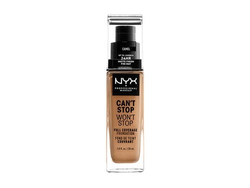 NYX Can't Stop Won't Stop Foundation-CAMEL