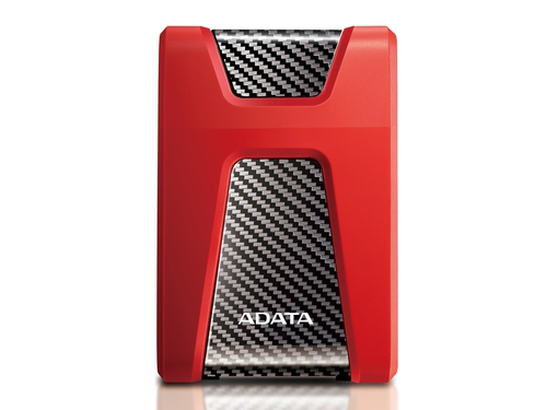 "ADATA DYSK HD650 2TB 2.5"" USB 3.1 RED - AHD650-2TU31-CRD"