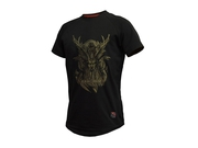 T-SHIRT THORNFIT ODIN BLACK r. M
