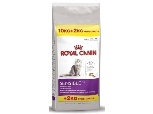 Karma Royal Canin FHN Sensible 10+2 kg - 3182550708371