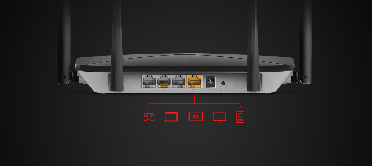 #Router Mercusys AC12G