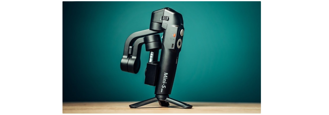 #Moza Gimbal Mini-S Black Extendable