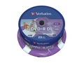 Dvd+r verbatim dl 8.5gb 8x printable sp 25szt 43667