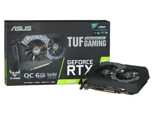 GeForce RTX 2060 TUF Gaming OC 6GB GDDR6 - TUF-RTX2060-O6G-GAMING