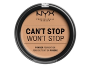 NYX CANT STOP WONT STOP POWDER FOUNDATION-CARAMEL