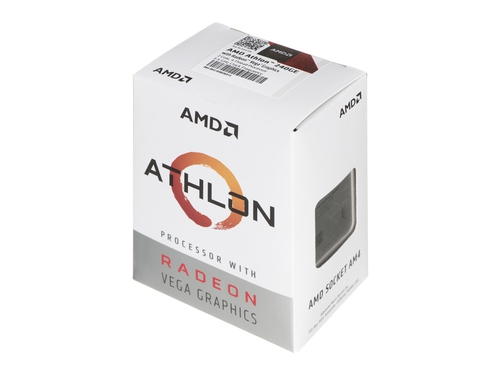 Procesor AMD Athlon 240 GE YD240GC6FBBOX 3500 MHz (min) 3500 MHz (max) AM4