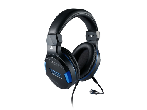 Słuchawki BIG BEN Stereo Gaming Headset PS4 Blue