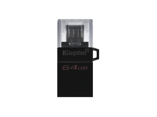 KINGSTON FLASH 64GB DT MicroDuo 3 Gen2 + microUSB - DTDUO3G2/64GB