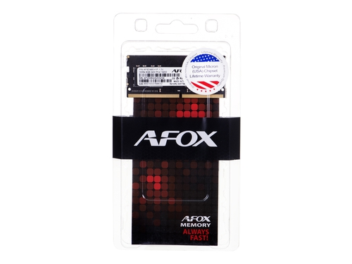 AFOX SO-DIMM DDR4 8G 2400MHZ MICRON CHIP - AFSD48EH1P