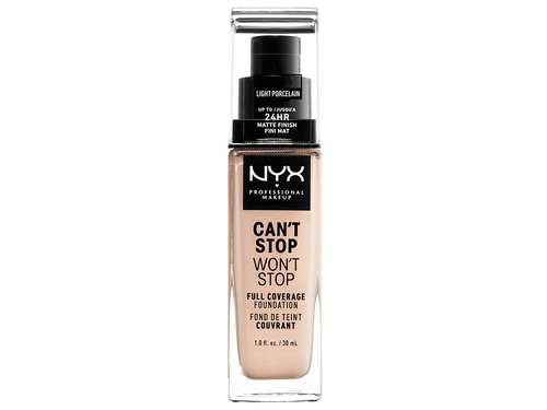 NYX Cant Stop Wont Stop Foundation LIGHT PORCELAIN