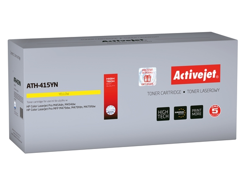 Activejet toner do HP 415A W2032A new ATH-415YN