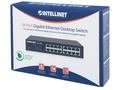 INTELLINET GIGA SWITCH 16X 10/100/1000 RJ45 561068