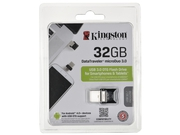 Pendrive Kingston Microduo USB 3.0 DTDUO3 32GB - DTDUO3/32GB