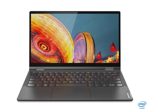 "Lenovo Yoga C640-13IML i7-10510U 13.3"" FHD IPS Anti-glare 16GB Soldered DDR4-2400 512GB SSD M.2 2242 NVMe Intel UHD Graphics Windows 10 Home 64, Polish 81UE0070PB Iron Grey"