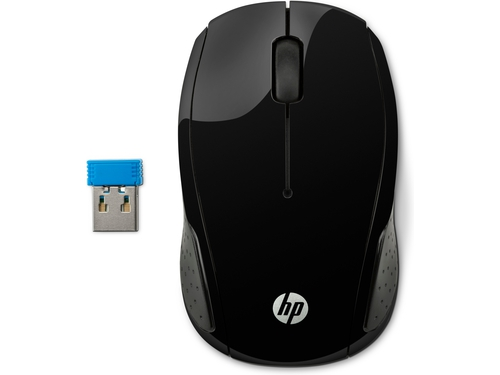 HP 200 Black Wireless Mouse X6W31AA