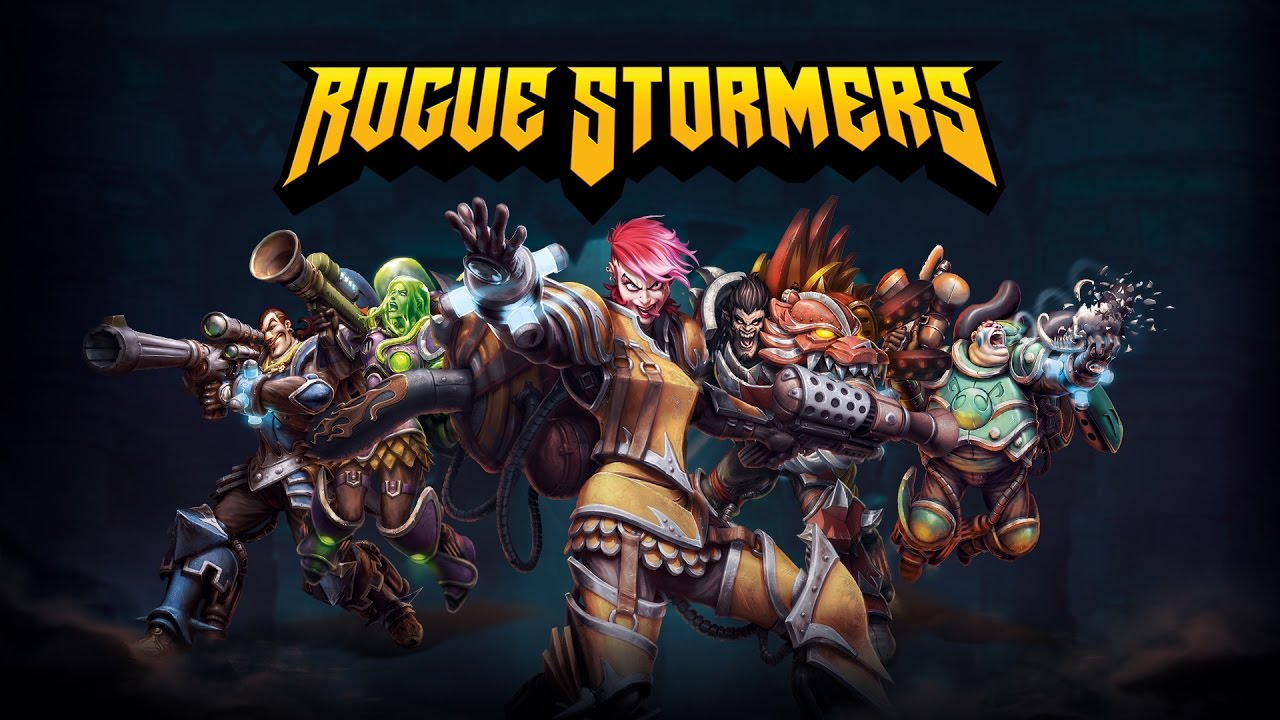 #Rogue Stormers
