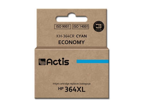 Actis KH-364CR tusz cyan do drukarki HP (zamiennik HP 364XL CB323EE)