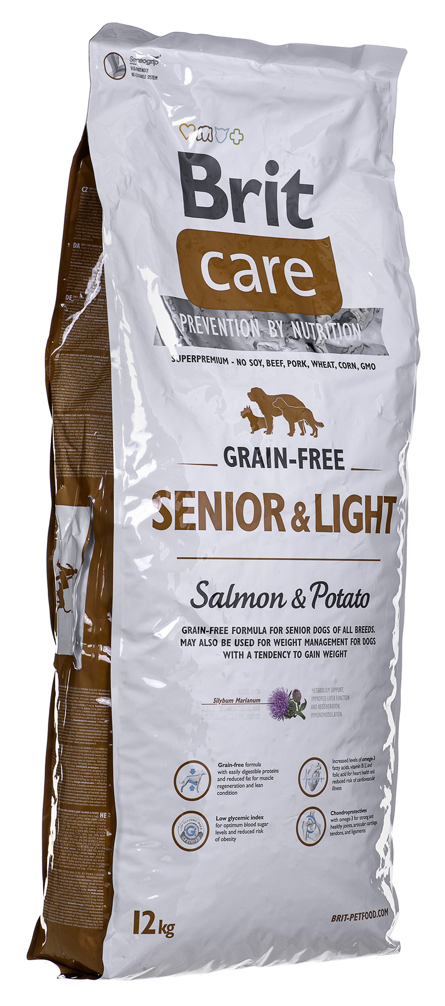 #Brit Care Grain-free Senior Salmon & Potato12