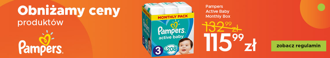 Regulamin Pampers Active Baby