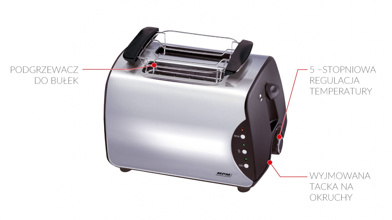 #Toster MPM BH-8863