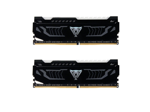 PATRIOT VIPER LED WHITE DDR4 16GB 3200MHz CL16 DUAL - PVLW416G320C6K
