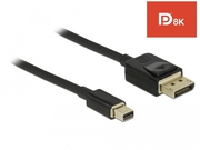 DELOCK KABEL DP MINI (M) -> DP (M) V1.4 2M 8K - 84928
