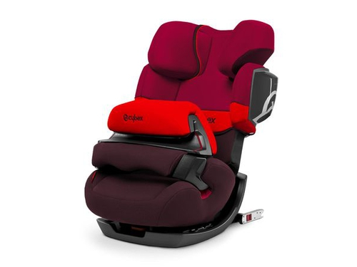 Fotelik samoch CYBEX PALLAS 2-FIX Rumba Red DarkRed