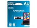 GOODRAM FLASHDRIVE 64GB USB 2.0 CUBE BLACK - UCU2-0640K0R11