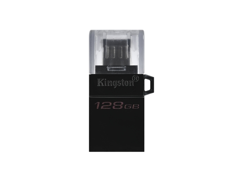 KINGSTON FLASH 128GB DT MicroDuo 3 Gen2 + microUSB - DTDUO3G2/128GB