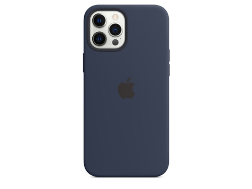 Apple iPhone 12 Pro Max Silicone Case with MagSafe - Deep Navy - MHLD3ZM/A