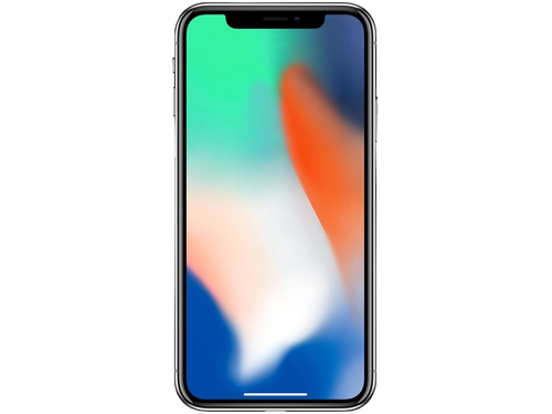 Smartfon Apple iPhone X NFC WiFi GPS Bluetooth LTE 64GB iOS 11 srebrny