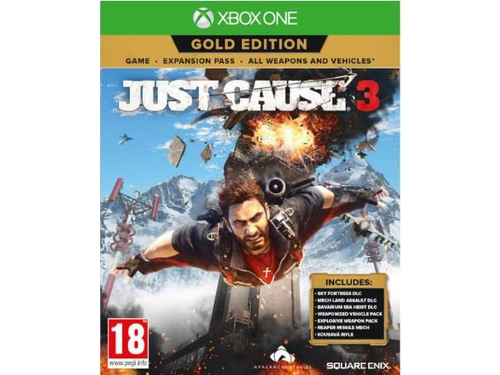 Gra Xbox One Just Cause 3 Gold Edition