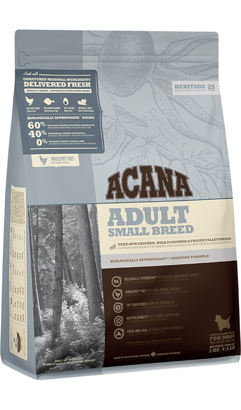 #ACANA Adult Small Breed 2kg