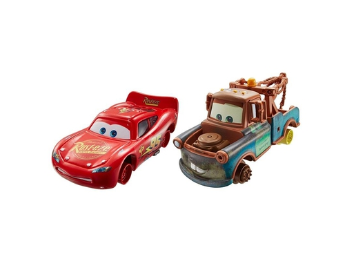 Mattel Auta Dwupak Mater with No Tires - DHL20