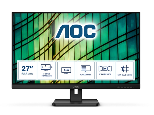 "MONITOR AOC LED 27"" 27E2QAE"