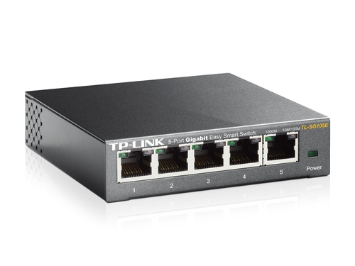 TP-Link TL-SG105E 5-Port Gigabit Easy Smart Switch Desktop